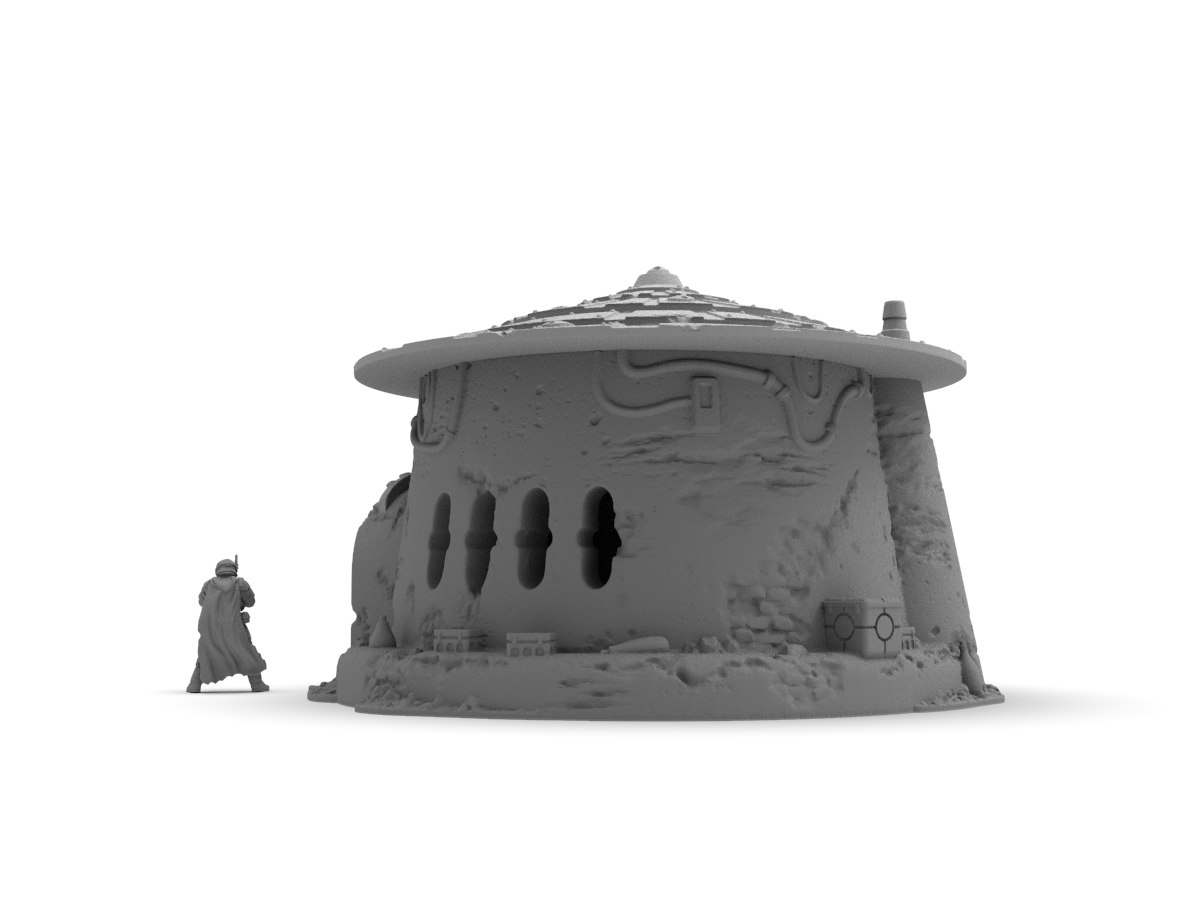 Crazy Hermits Home by Jesús - Digital STL File