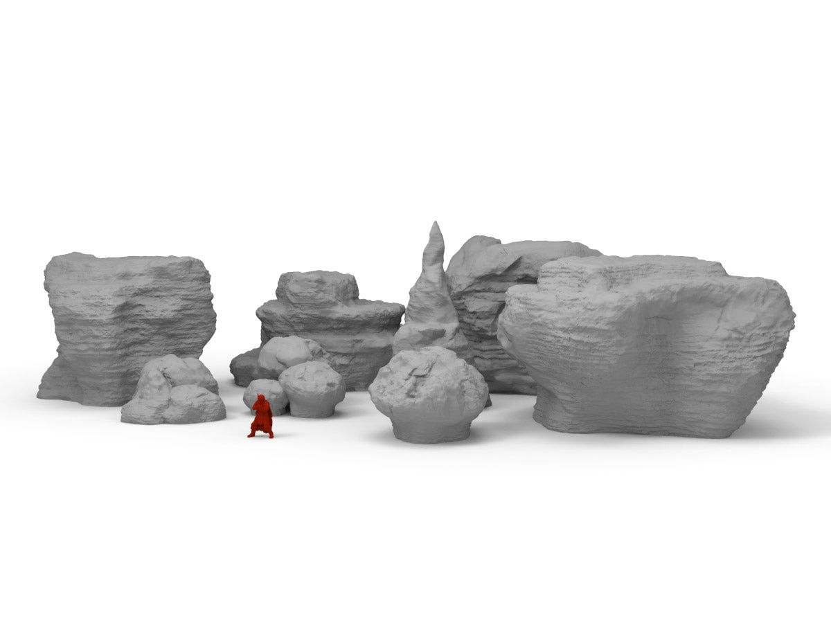 Big Rocks - Digital STL Files