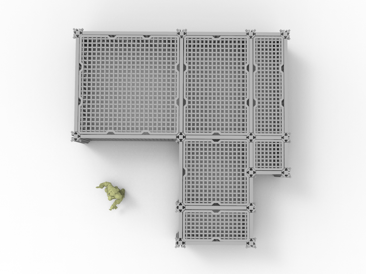 Grate Bundle - Digital STL Files