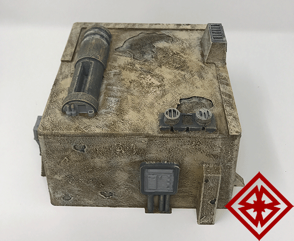 my desert dwelling for star wars legion terrain