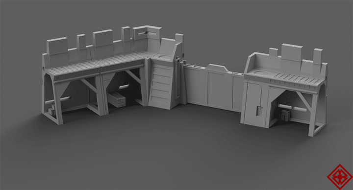 Imperial Forward Outpost - Digital STL Files
