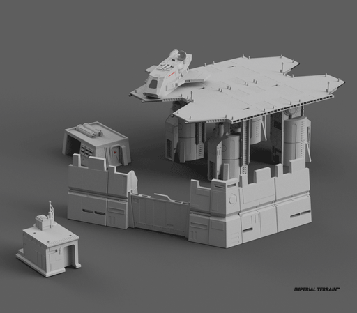 Imperial Outpost Bundle - Digital STL Files