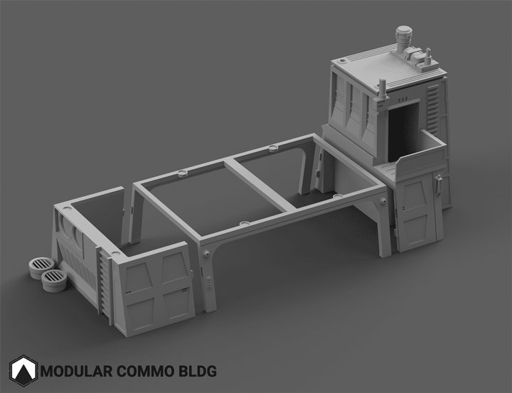 Modular Commo Building - Digital STL Files