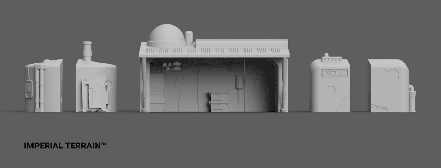 Modular Landing Bay Expansion Set 3
