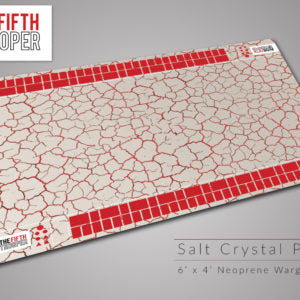 Fifth Trooper 6'x4' - Salt Crystal Planet Gaming Mat