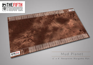 Fifth Trooper 6'x4' - Mud Planet Gaming Mat