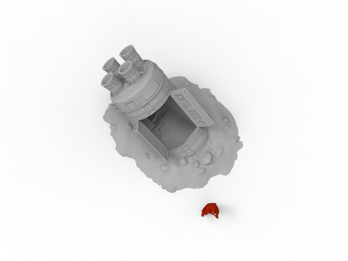 Large Escape Pod - Digital STL File
