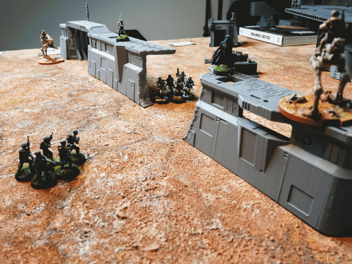 Imperial Walls Battle Line