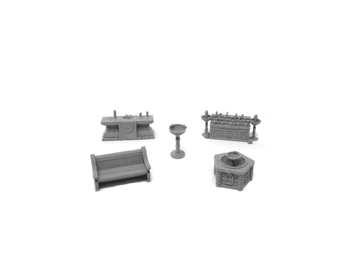 Church Furnishings Set