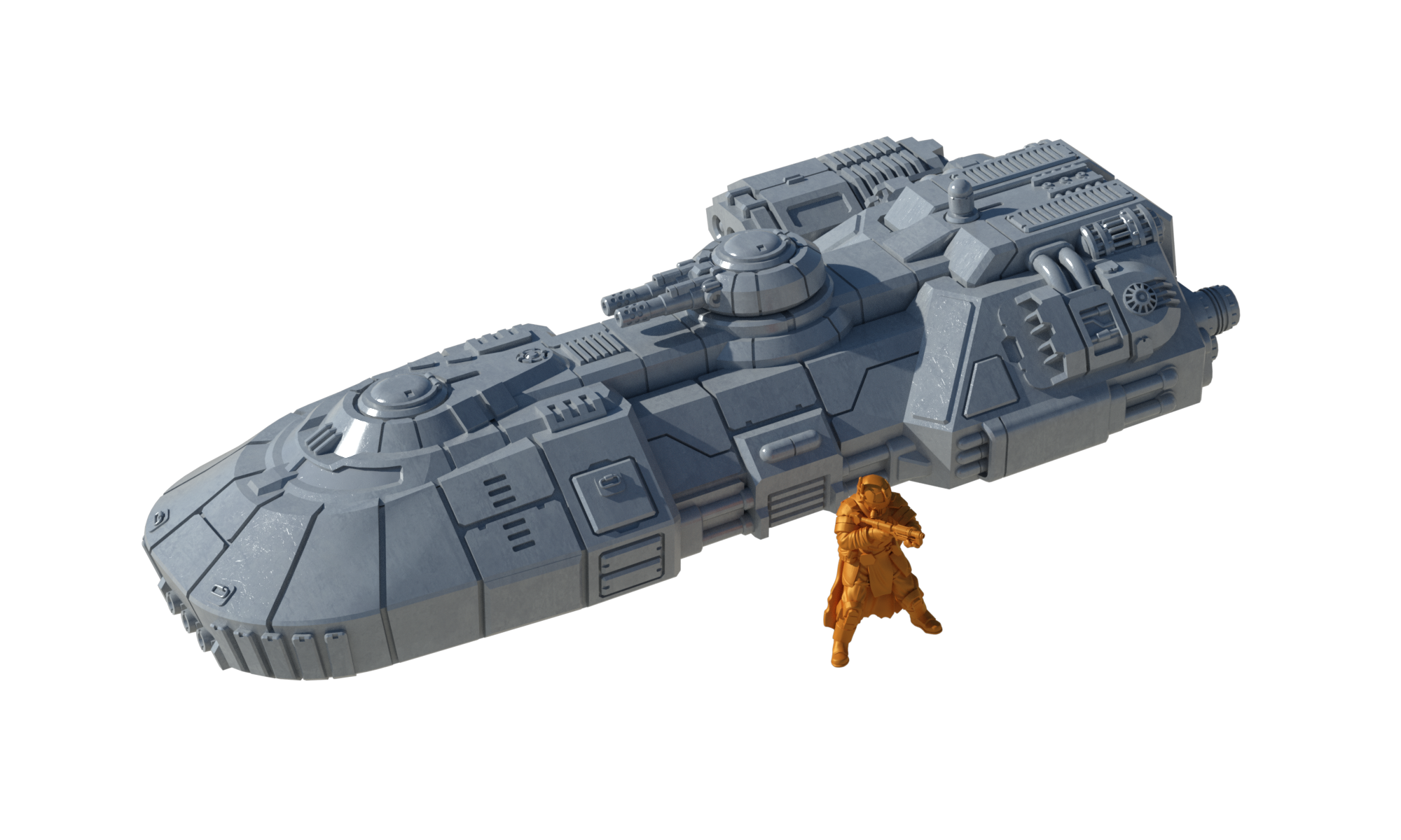 Insurgent Main Battle Tank - Digital STL Files