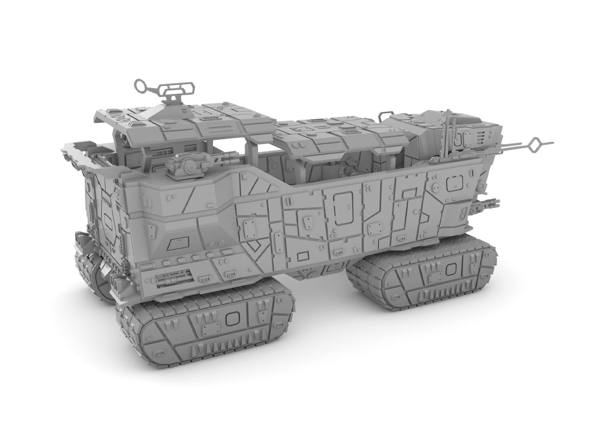 Sand Crawler Tank by Jesús - Digital STL Files
