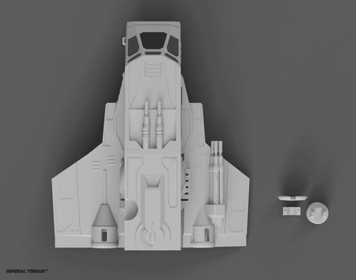Vando's Ship - Digital STL File