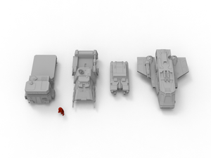 Vehicle Pack - Digital STL Files