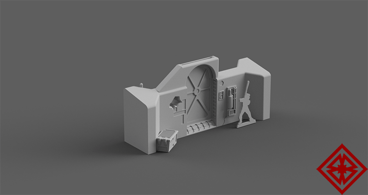 Modular Landing Bay Core - Digital STL Files