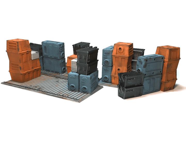 Painted Cargo Pallets