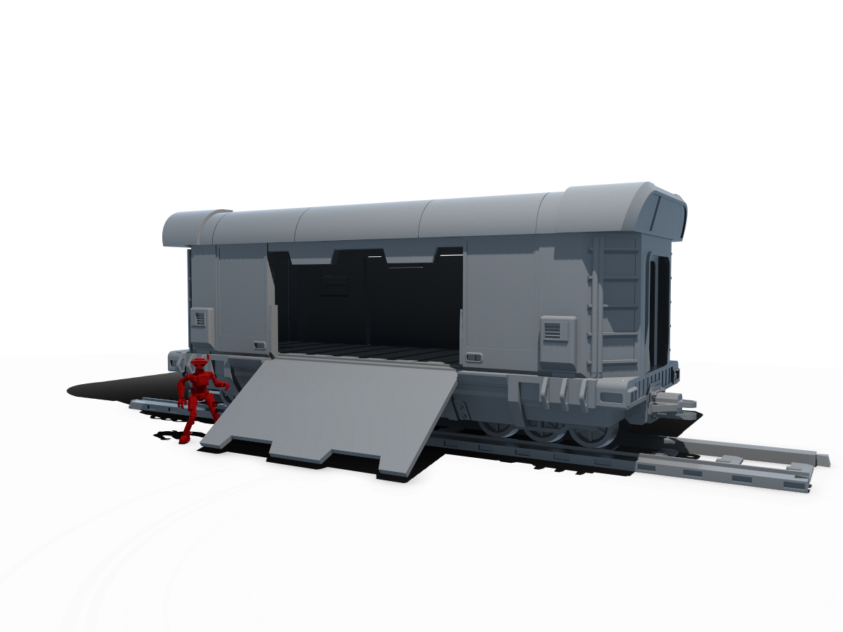 Vando's Train Bundle - Digital STL Files