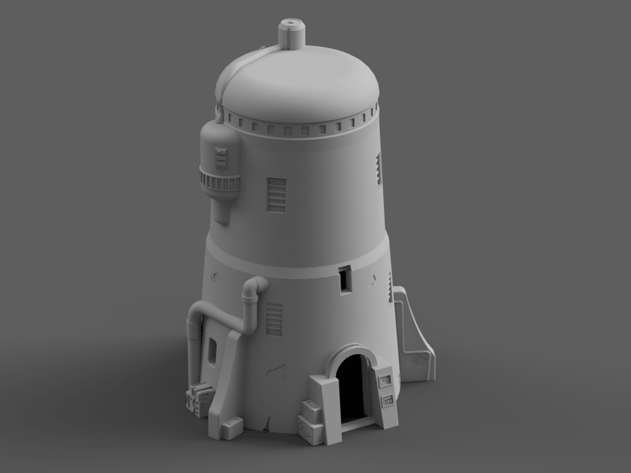 Desert Towers - Digital STL File