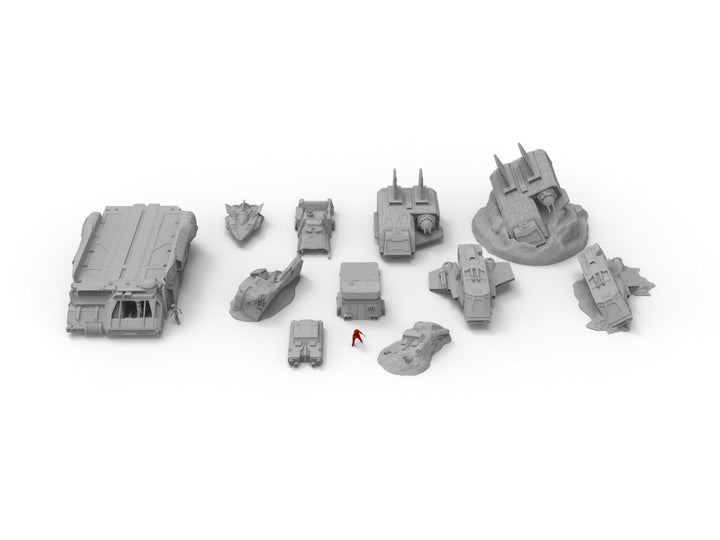 Vehicle Pack Plus - Digital STL Files