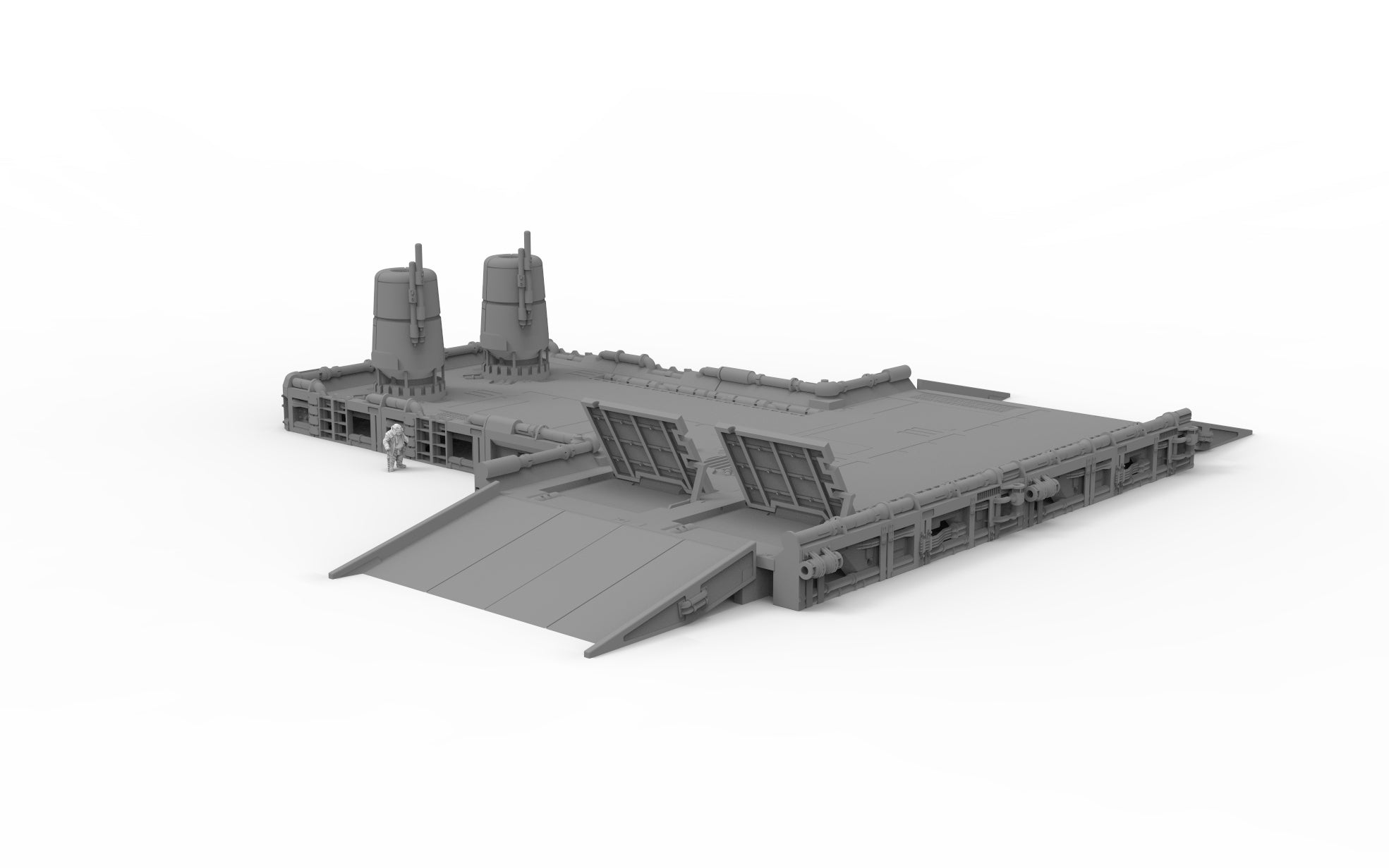 Cargo Platform Basic Set - Digital STL Files