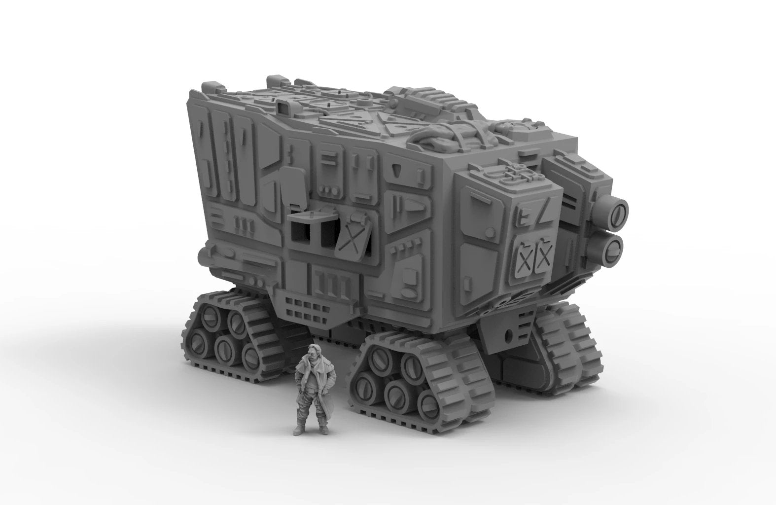 Desert Carrier by Jesús - Digital STL File