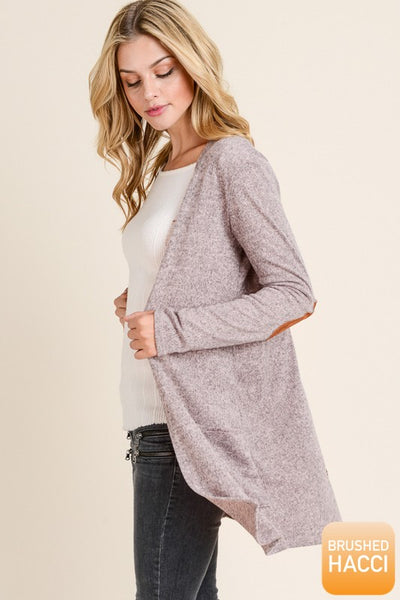 Donna Hacci Open Front Cardigan