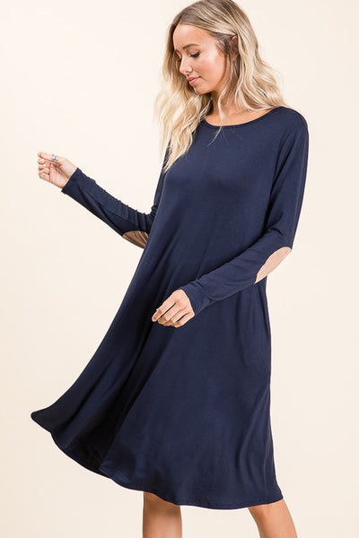 Alicia Long Sleeve Swing Dress