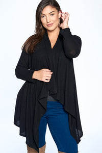 Veronica Brushed Hacci Cardigan