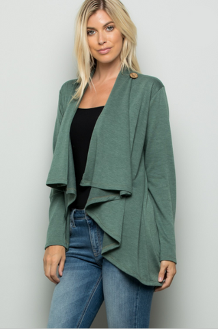 Tammy Draped Front Cardigan