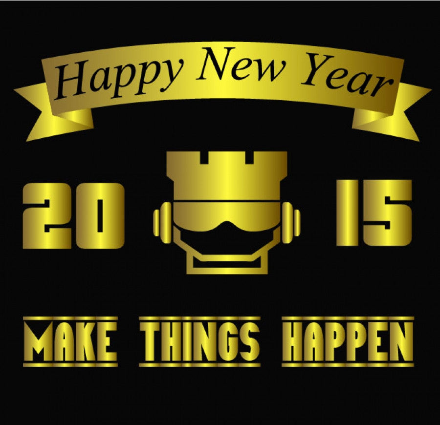Happy New Year! 2015 Means 365 Days Of New Opportunities!