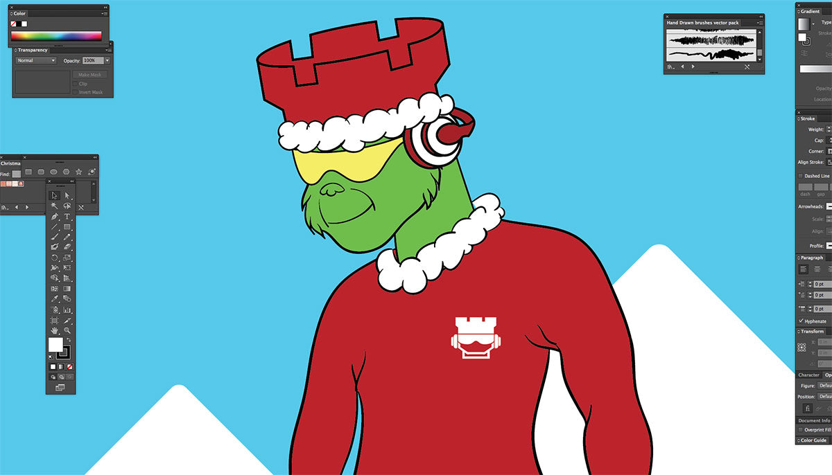 holiday mascot1