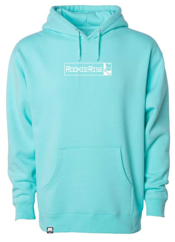 Peek It Hooded Sweatshirt - Mint - Rookie Rise Clothing