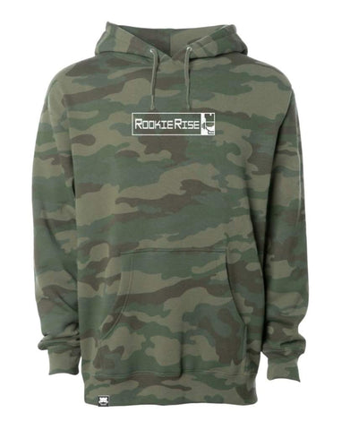 Peek It Hooded Sweatshirt - Camo - Rookie Rise Clothing