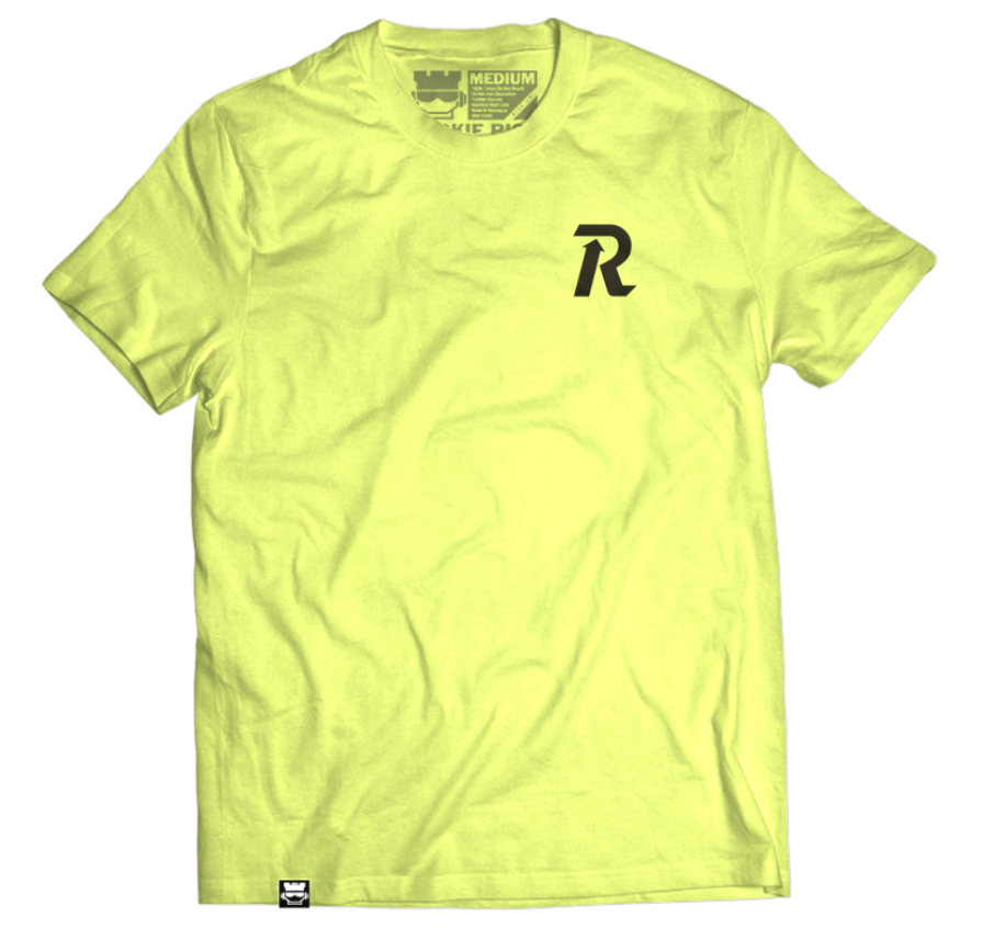 Letter Rise Tee - Yellow
