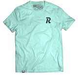 Letter Rise Tee - Mint