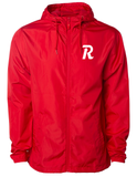 Letter Rise Windbreaker - Red