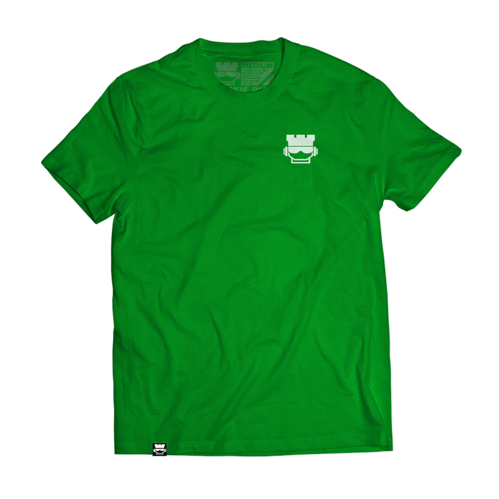 Mini Rook Face Tee - Green