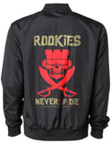 Never Say Die Bomber Jacket - Black