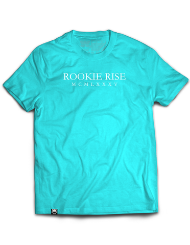 From Birth Tee - Lt. Blue/Wht - Rookie Rise Clothing