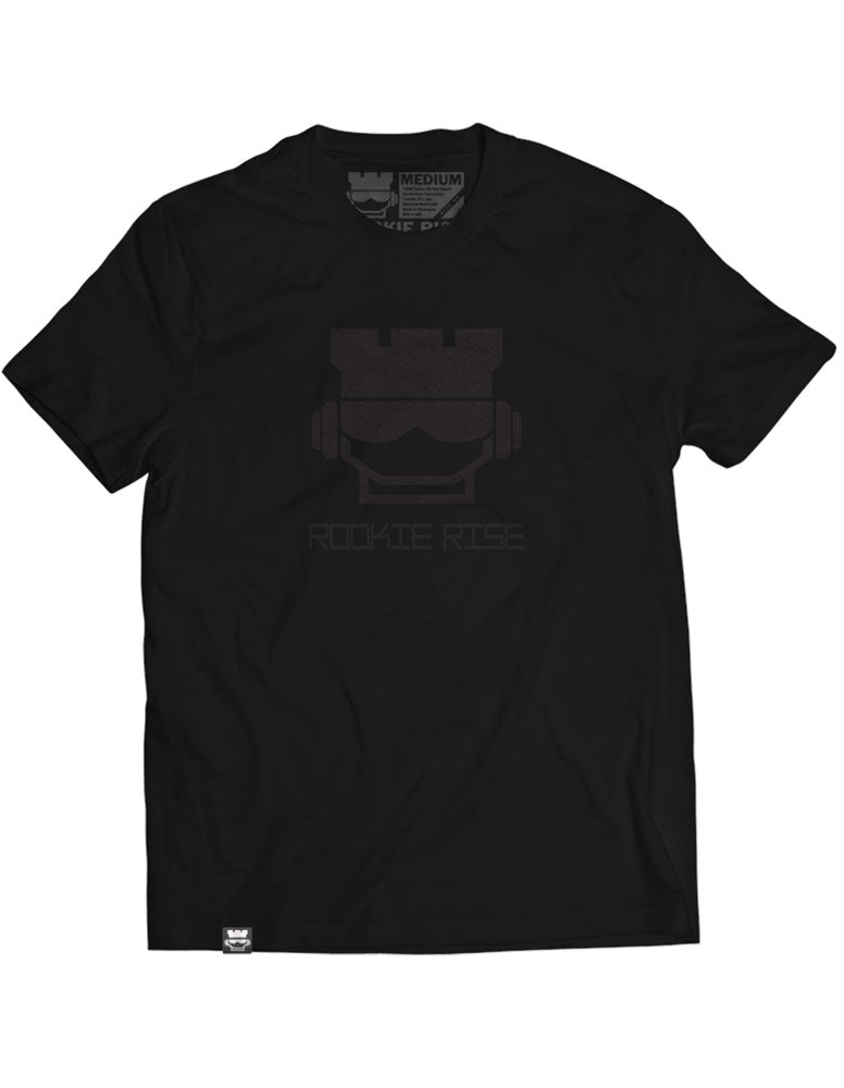 Rook Face Tee - Black/Black