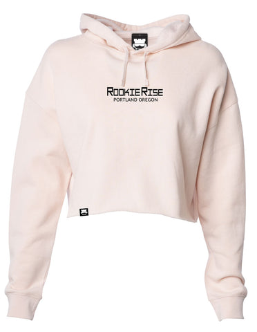 Rookland Crop Top Sweatshirt - Pink