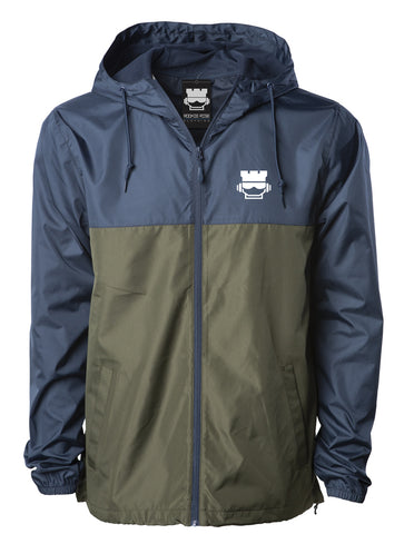 Pacific Windbreaker - Navy/Olive