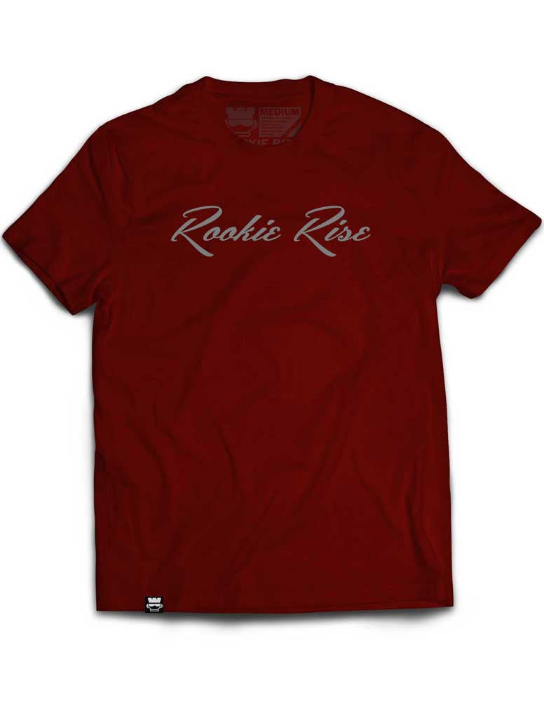 Classy Rook Tee - Maroon/Gray - Rookie Rise Clothing