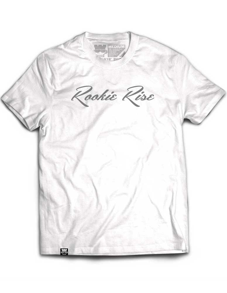 Classy Rook Tee - White/Grey - Rookie Rise Clothing