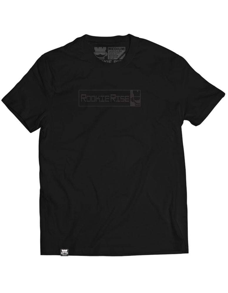 Peek It Tee - Black/Black