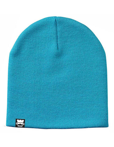 Rook Solid Beanie - Oasis Blue - Rookie Rise Clothing