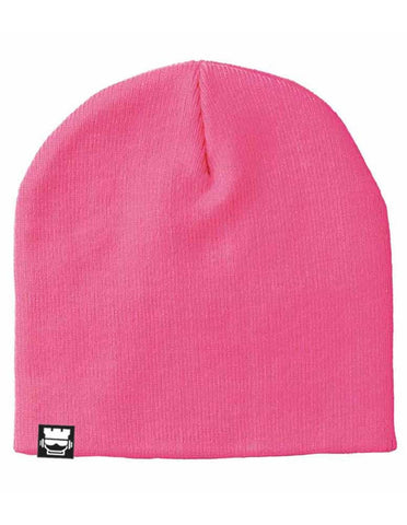 Rook Solid Beanie - Pink - Rookie Rise Clothing