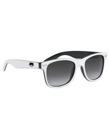 Rookie Vision Sunglasses - White/Black - Rookie Rise Clothing