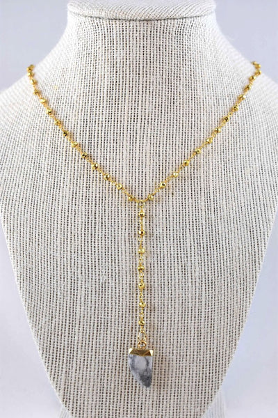 Aubree Kennedy Lariat Necklace