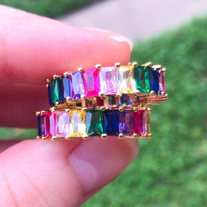 Rhea Tegan Rainbow Ring