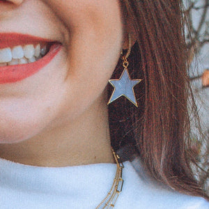 Stella Peri Star Earrings